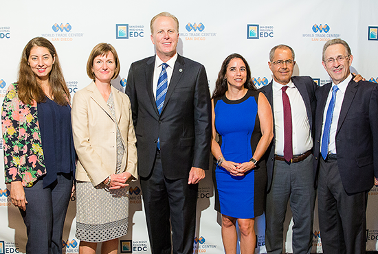 USMEX Staff with Mayor Kevin Faulconer