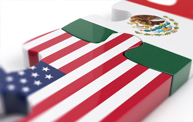 U.S.-Mexico puzzle pieces
