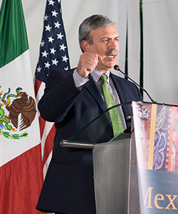 Francisco Gonzalez, director of ProMexico